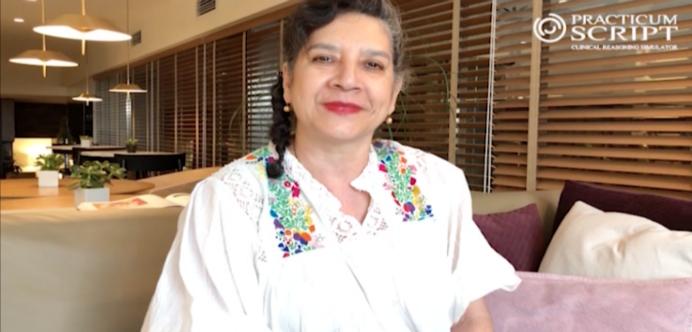 La prestigiosa editora médica María del Carmen Ruiz Alcocer colabora con la Fundación Practicum