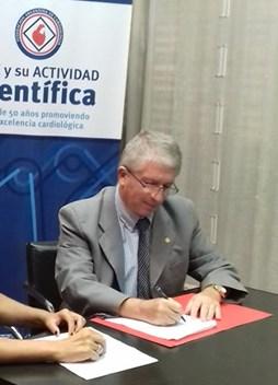 La Federación Argentina de Cardiología fortalece sus nexos internacionales