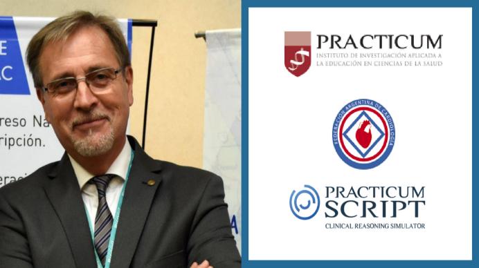 """El presidente de la FAC renueva su compromiso con Practicum y asegura que """"no hay forma de abordar al paciente sin formación permanente"""""""